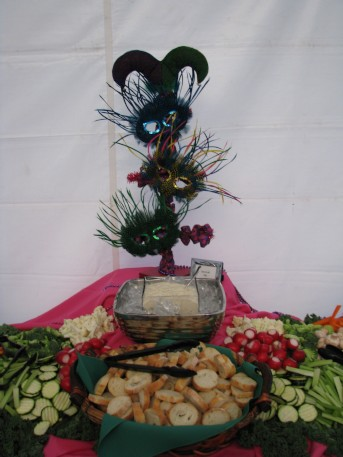 Marti Gras Hors d'oeuvres